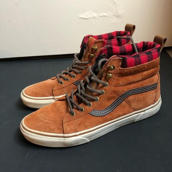 717d3ae2ba0a37 Vans SK8 Hi MTE Cold Weather Sneakers. M 5b6235e5f41452d88fa30ab4
